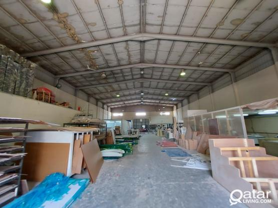 1500sqm CARPENTER WORK SHOP with 15 Rooms