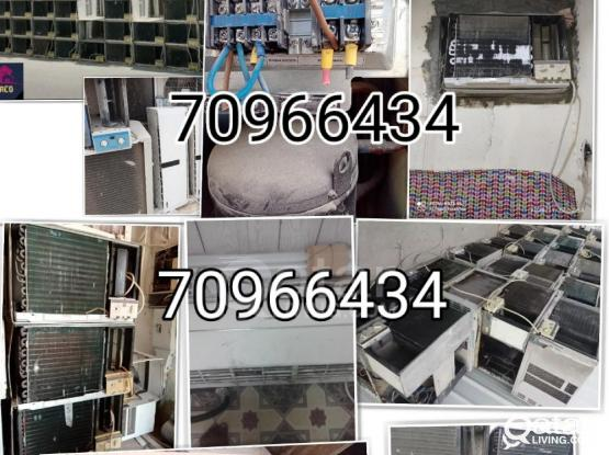 We do all type AC repair and service, also buying and selling AC. Please call 70966434 or 31175352