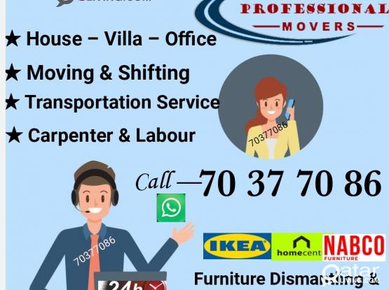 Professional movers, with good experience. For Reasonable price and Good service please call 70377086