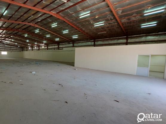 2000sqm store for rent in industrial Area