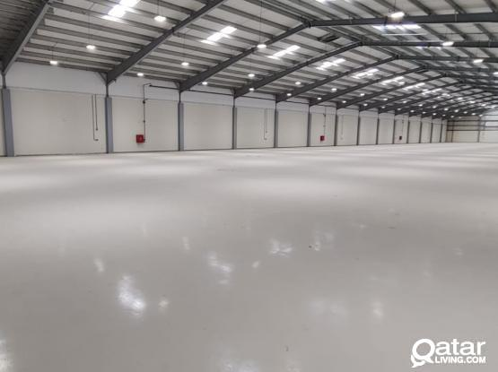 5000 m² and 9500 m² A/c Store For Rent