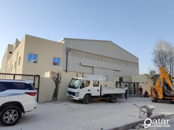 800 Workshop with 10 Room For Rent