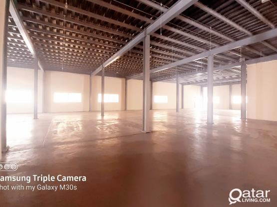 1600 SQM 4 ROOMS  BRAND NEW WAREHOUSE FOR RENT NEW INDUSTRIAL AREA