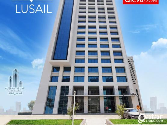 For Rent : Offices in Marina – Lusail !!