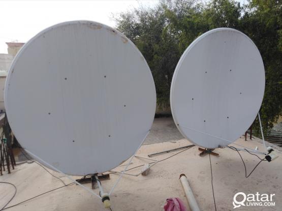 Satellite Dish Antenna Receivers