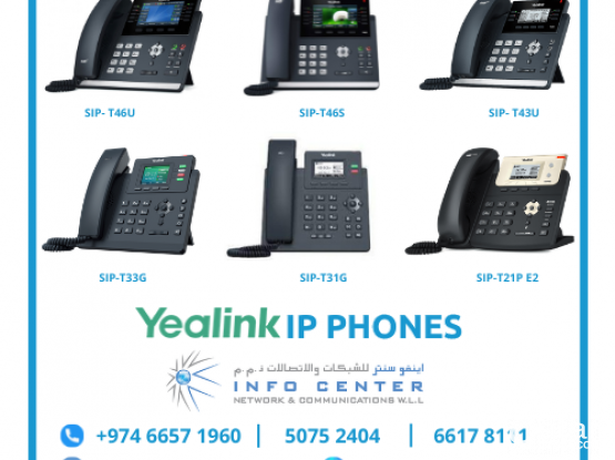 Yeastar / Yealink IP Phone Solutions From Infocenter Network and Communications
