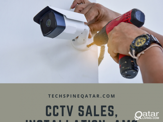 CCTV Installation at Best Price All over Qatar - 66524222