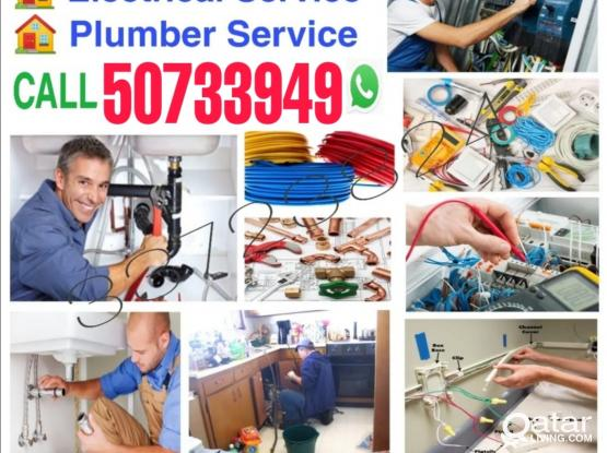 Call 50733949 we do Electrical and plumber