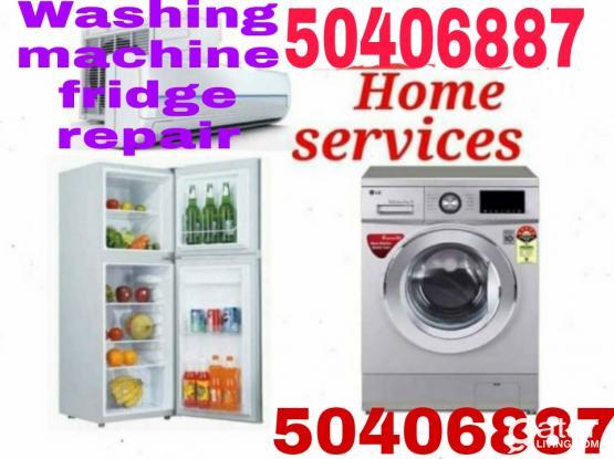 50406887 Washing machine fridge repair