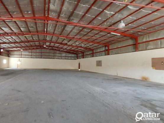 2000SQM  WORK SHOP & STORE FOR RENT IN INDUSTRIAL AREA