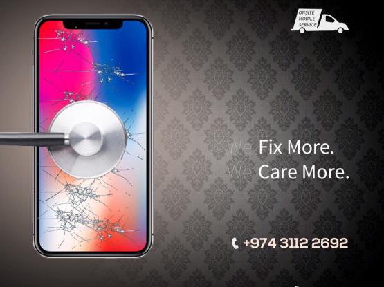 IPhone Repairs In Qatar  - Home Service