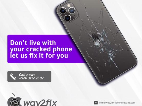 iPhone BACKGLASS Replacement At Your Doorstep