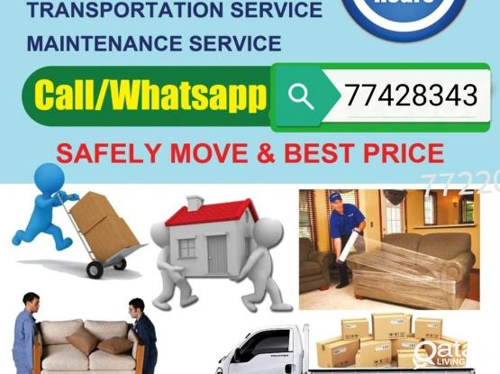 Moving,Shifting-packing service truck,pickup available  Call-77428343 House,villa,office Furniture and Transportation Service, Pickup available Just call me.