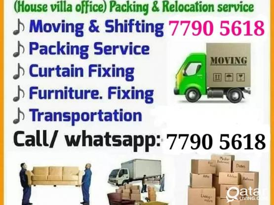All moving and shifting works at Best price. Please call 77905618