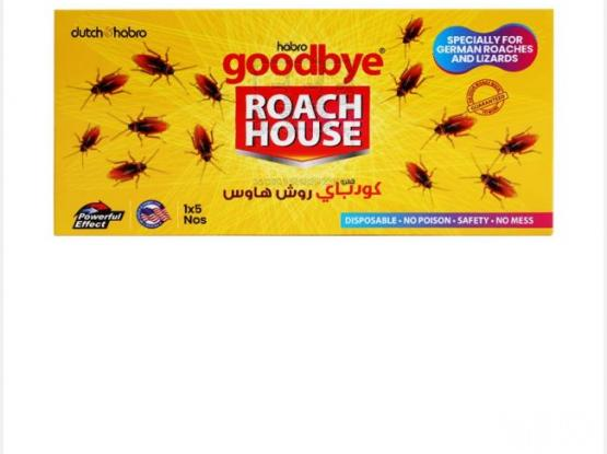 Cockroach bait sticker