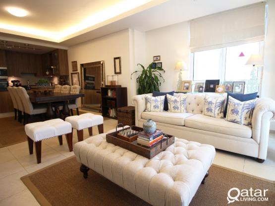 For sale: Modern fully furnished apartment in Viva Bahriya 23. Direct from owner. All bills included