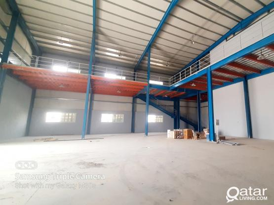1000 SQM GARAGE / STORE WITH 9 ROOMS