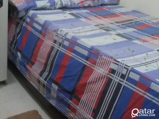 BED SPACE VAILABLE AL SADD- BACHELOR