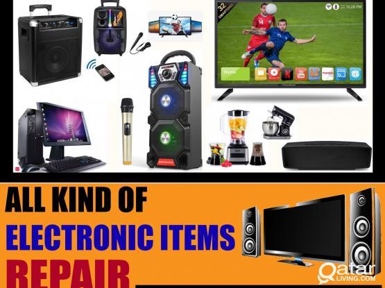 Led Tv Repair ,Computer Repair, Sub Speaker Repair, Electronics items Repair and Service