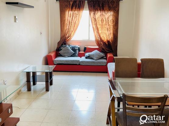 Spacious 1 bhk fully furnished apartment at old al ganim