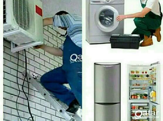 AC,Washing Machine and fridge repair call 70739608