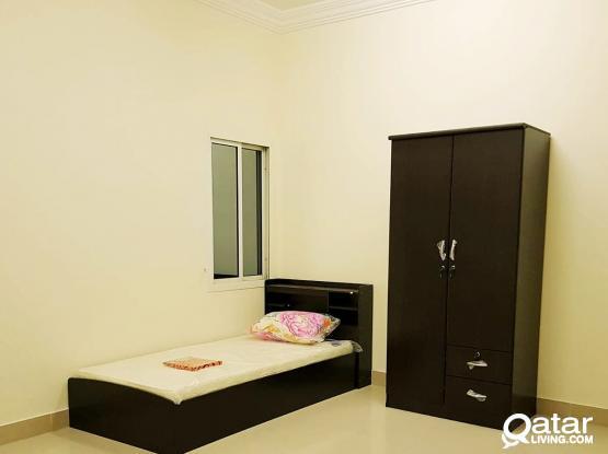 Fully Furnished Female accommodation in madina khalifa