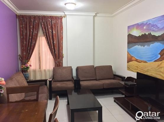 NO COMMISSION..SHORT & LONG TERMS. .1 BHK FURNISHED AT B RING , CLOSE TO LULU EXPRESS