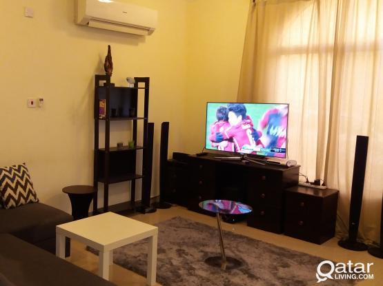 Big Studio - Fully Furnished - QF and Sidra Area