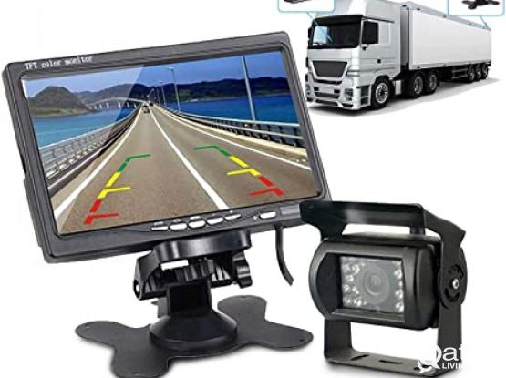 Truck/Bus Reverse Camera 7 inch LCD Monitor. Night Vision - Water Proof.