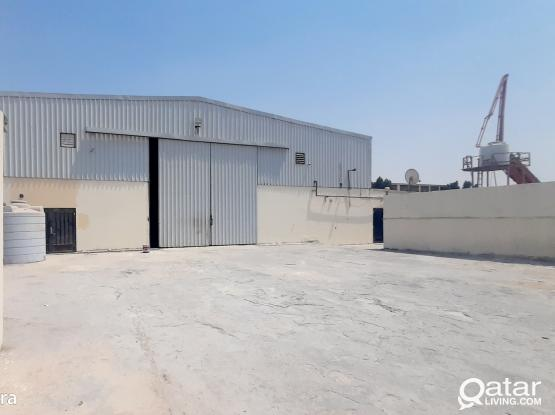 1600 SQM STORE WITH 5 ROOMS