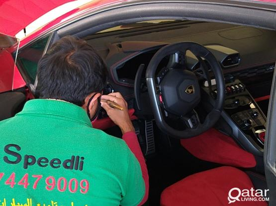 Car Complete Exterior and Interior Polishing in Doha