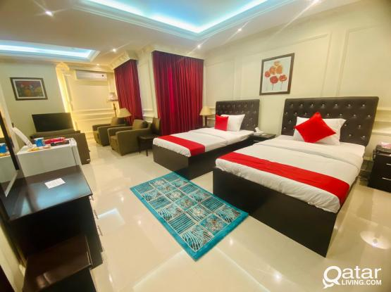 Affordable F/F 1BHK Majestic Hotel Apartment