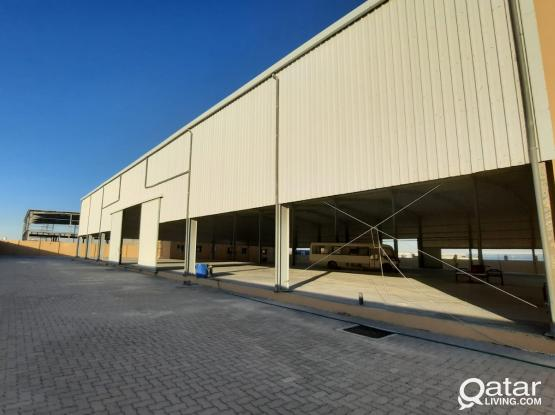 WAREHOUSE W/OFFICE AND STAFF ACCOMODATION  AVAILABLE
