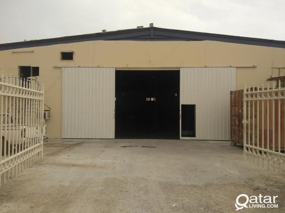 Sqm 450 Warehouse / Factory in Street 8, Sanaiya