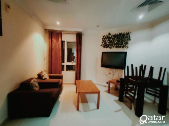 FULLY FURNISHED 1BHK APARTMENT FOR RENT IN UMM GHWAILINA (CLOSE TO METRO STATION, MUSEUM, CORNICHE)