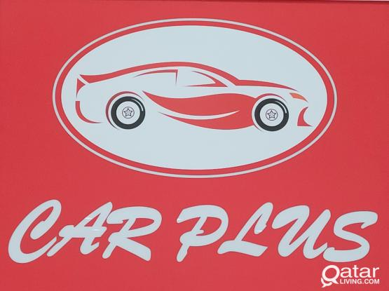 CAR PLUS for window film protection and accessories