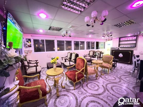 Ready Coffee Shop / Shisha Café for Rent ##