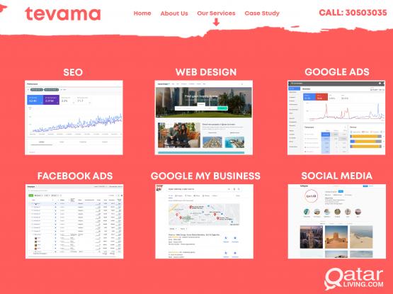 Web Design, SEO & Facebook Ads