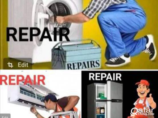 Washing machine,AC ,fridge repair Doha Qatar