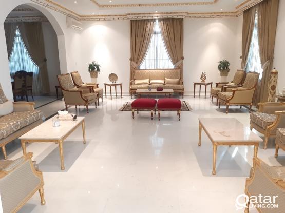 Very huge villa 10 bed room available Markhiya