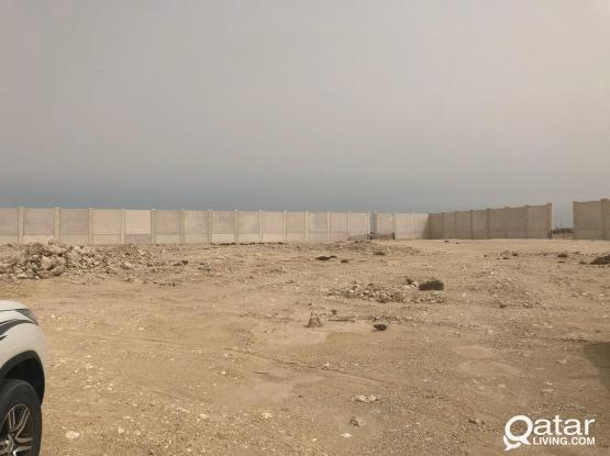 1800 Comeecial land with 7 room alkhor