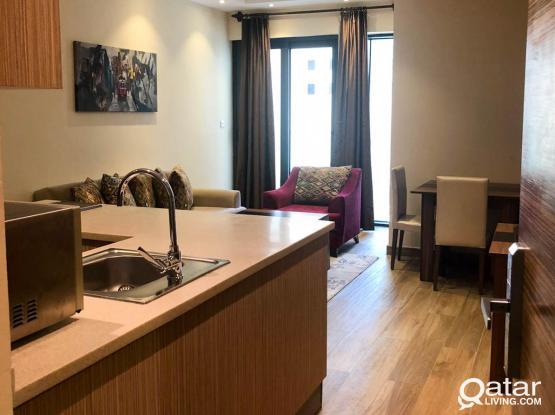 Furnished, 1 BHK Apartment in Al Sadd near Lulu
