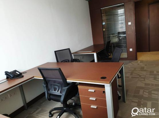 OFFICE FOR RENT @ QR - 3000/-