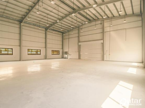 Brand New Warehouse with rooms & offices In Berkat Al Awamer