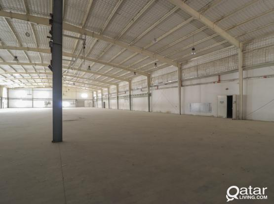 Spacious Food Warehouse With Centralized Air Condition