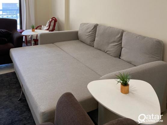 FULLY FURNISHED 1 BHK APARTMENT @ AL LUSAIL CITY
