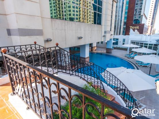 NO COMMISSION! NEAR CITY CENTER! FULLY FURNISHED