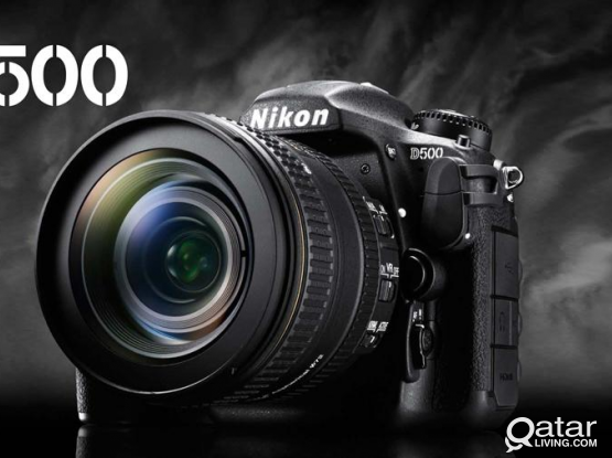 Sale : Nikon D500+NIKKOR 200-500 lense