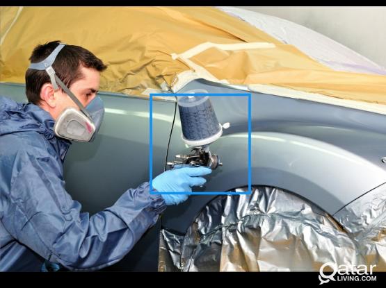 Professional Car Painting Workshop
