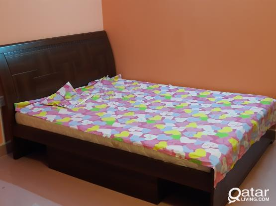FULLY FURNISHED *1 BEDROOM SMALL HALL, FOR* FAMILY* OR LADIES STAFF, IN GROUND FLOOR.
